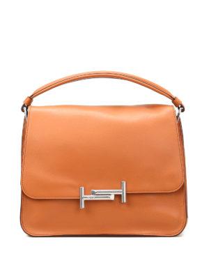 Tod'S: shoulder bags - Medium Double T shoulder bag