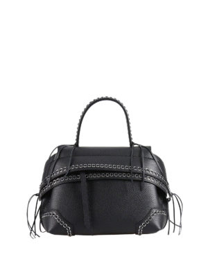 Tod'S: shoulder bags - Mini Wave bag with metal eyelets