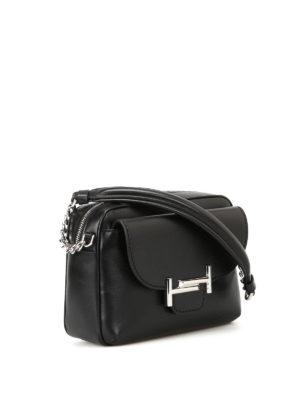 Tod'S: shoulder bags online - Black soft leather camera bag