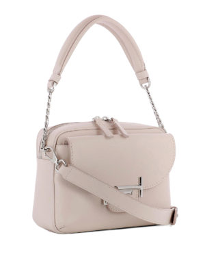 Tod'S: shoulder bags online - Double T leather mini camera bag