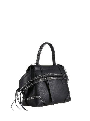 Tod'S: shoulder bags online - Mini Wave bag with metal eyelets