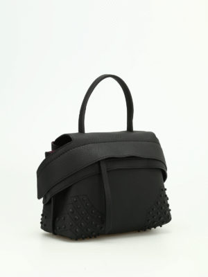 Tod'S: shoulder bags online - Wave leather mini shoulder bag