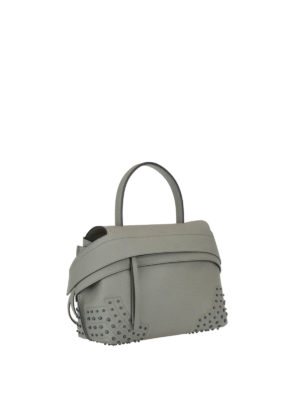 Tod'S: shoulder bags online - Wave leather small shoulder bag