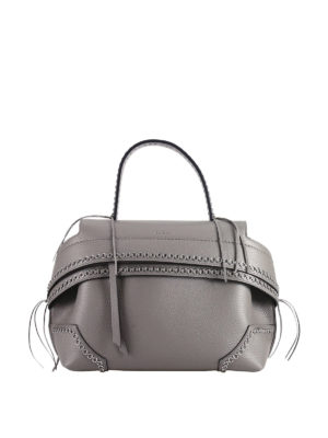 Tod'S: shoulder bags - Small Wave bag with metal eyelets