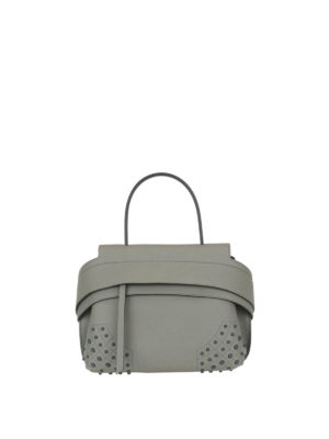 Tod'S: shoulder bags - Wave leather mini shoulder bag