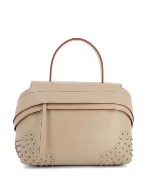 Tod'S: shoulder bags - Wave leather small bag