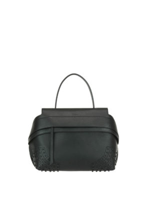 Tod'S: shoulder bags - Wave leather small shoulder bag