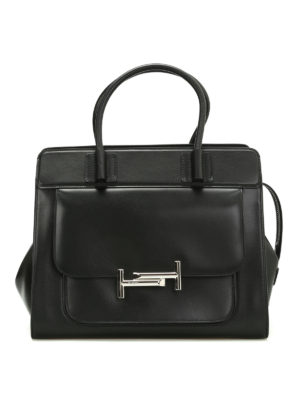 Tod'S: totes bags - Double T medium leather handbag