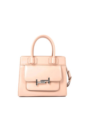 Tod'S: totes bags - Double T smooth leather tote