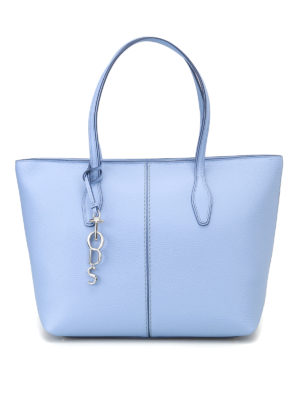 Tod'S: totes bags - Hammered leather medium tote