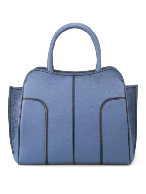 Tod'S: totes bags - Hammered leather small tote