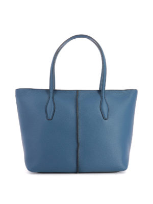 Tod'S: totes bags - Joy hammered leather medium tote