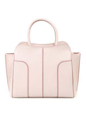 Tod'S: totes bags - Light pink leather small tote