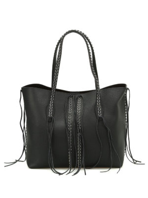 Tod'S: totes bags - Medium Joy leather shopping bag