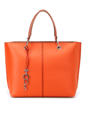Tod'S: totes bags - Medium shopping bag with rings
