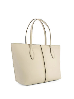 Tod'S: totes bags online - Joy hammered leather medium tote