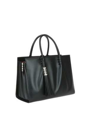 Tod'S: totes bags online - Smooth leather medium shopping bag