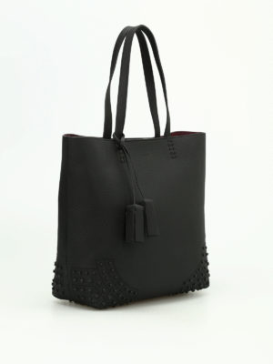 Tod'S: totes bags online - Wave Bag medium leather tote