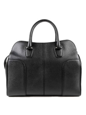 TOD'S: shopper - Borsa a mano Sella large nera