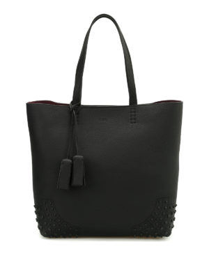 Tod'S: totes bags - Wave Bag medium leather tote