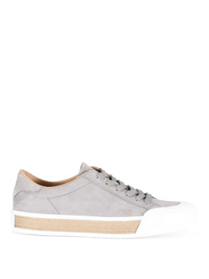 Tod'S: trainers - 26A lace-up nubuck sneakers