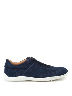 Tod'S: trainers - Active 08A soft suede sneakers