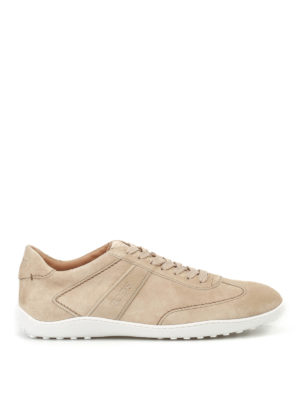 Tod'S: trainers - Active 08A suede sneakers