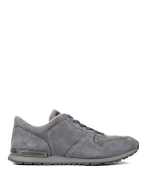 Tod'S: trainers - Active suede running shoes