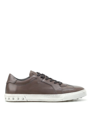 Tod'S: trainers - Allactive used effect sneakers
