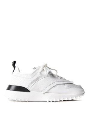 Tod'S: trainers - Fringed leather sneakers