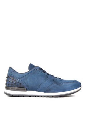 Tod'S: trainers - Gommino leather sneakers