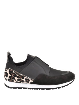 Tod'S: trainers - Haircalf detail slip-on sneakers