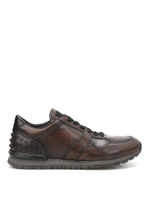 Tod'S: trainers - Leather sneakers