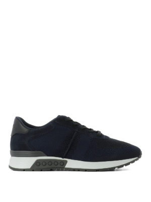 Tod'S: trainers - Mesh technical fabric sneakers