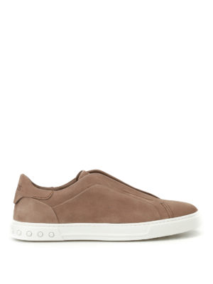 Tod'S: trainers - Nubuck slip-ons