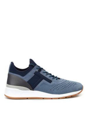 Tod'S: trainers - Nubuk and neoprene sneakers