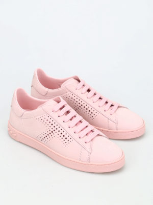 Tod'S: trainers online - 12A leather sneakers