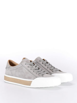 Tod'S: trainers online - 26A lace-up nubuck sneakers