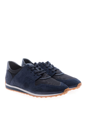 Tod'S: trainers online - 70A unstructured blue sneakers