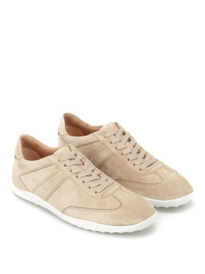 Tod'S: trainers online - Active 08A suede sneakers