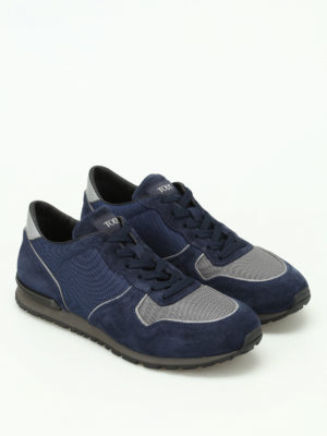 Tod'S: trainers online - Active multi fabric running shoes