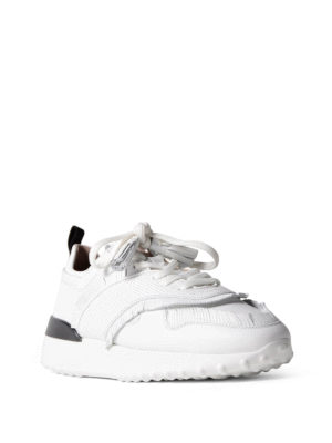 Tod'S: trainers online - Fringed leather sneakers