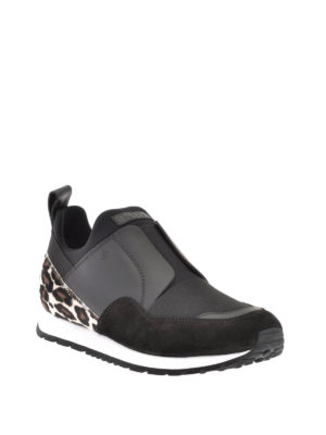 Tod'S: trainers online - Haircalf detail slip-on sneakers