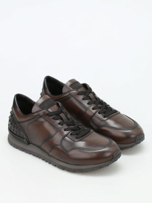 Tod'S: trainers online - Leather sneakers