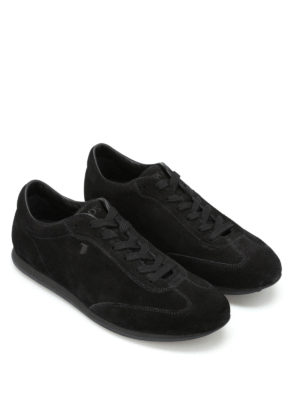 Tod'S: trainers online - Low top suede lace-up sneakers