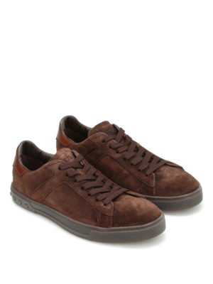 Tod'S: trainers online - Low top suede sneakers