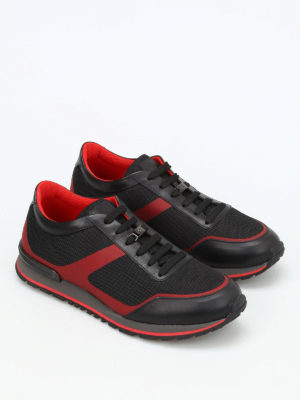 Tod'S: trainers online - Mesh and leather sneakers
