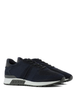 Tod'S: trainers online - Mesh technical fabric sneakers