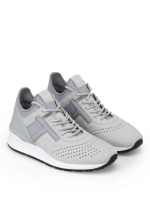 Tod'S: trainers online - Neoprene and nubuck sneakers