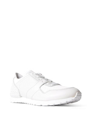 Tod'S: trainers online - Pebble detailed leather sneakers